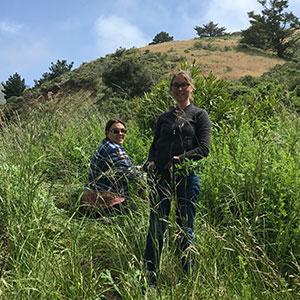 Jessica and Kristi Weeding