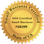 DGS Small Business Certified