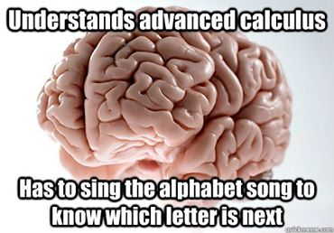 My Brains works in mysterious ways