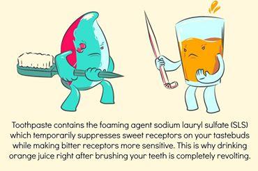 Tart Toothpaste