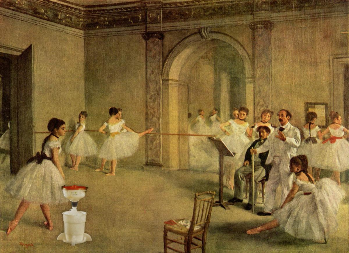 Ballerinas and ECO Funnel, Degas