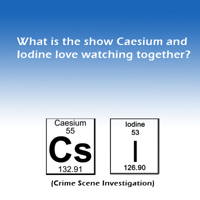 Funny science jokes laughs for scientists cesium iodine joke 2g urtaz Image collections